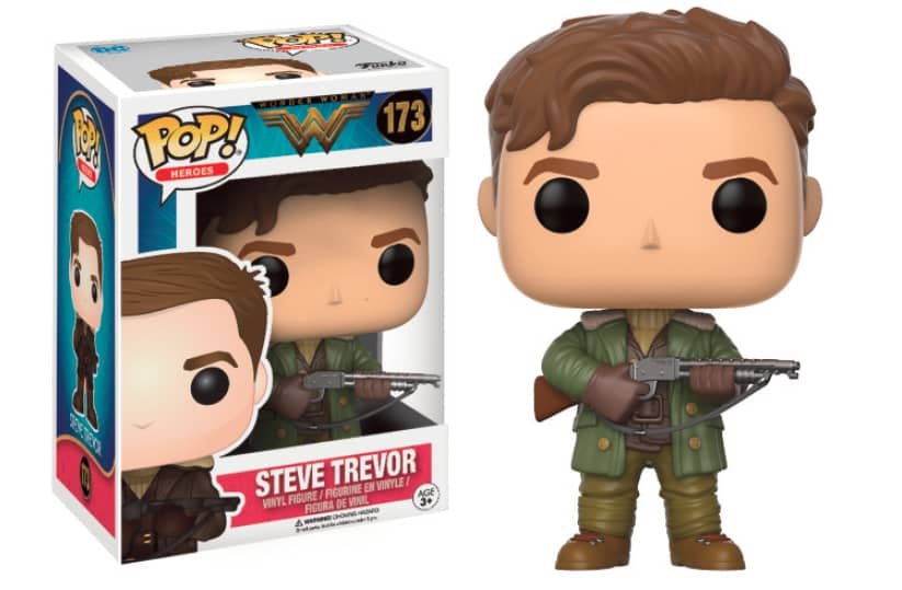 STEVE TREVOR FIGURA 10 CM VINYL POP HEROES WONDER WOMAN MOVIE