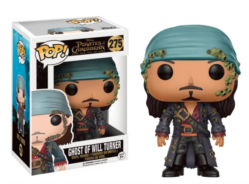 FANTASMA WILL TURNER FIG 10 CM VINYL POP MOVIES PIRATAS DEL CARIBE LA VENGANZA DE SALAZAR