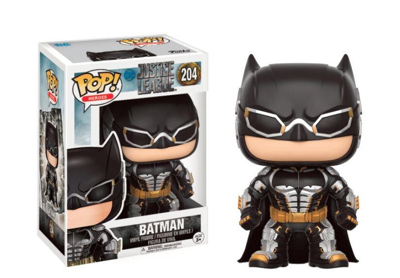 BATMAN FIGURA 10 CM VINYL POP HEROES JUSTICE LEAGUE MOVIE