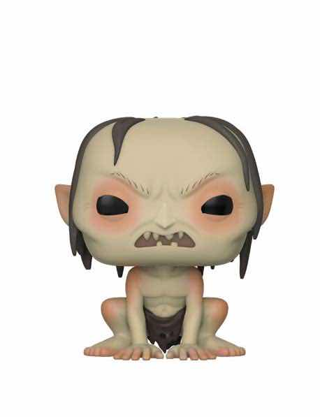 SURTIDO GOLLUM 6 FIGURAS 10 CM VINYL POP MOVIES LORD OF THE RINGS