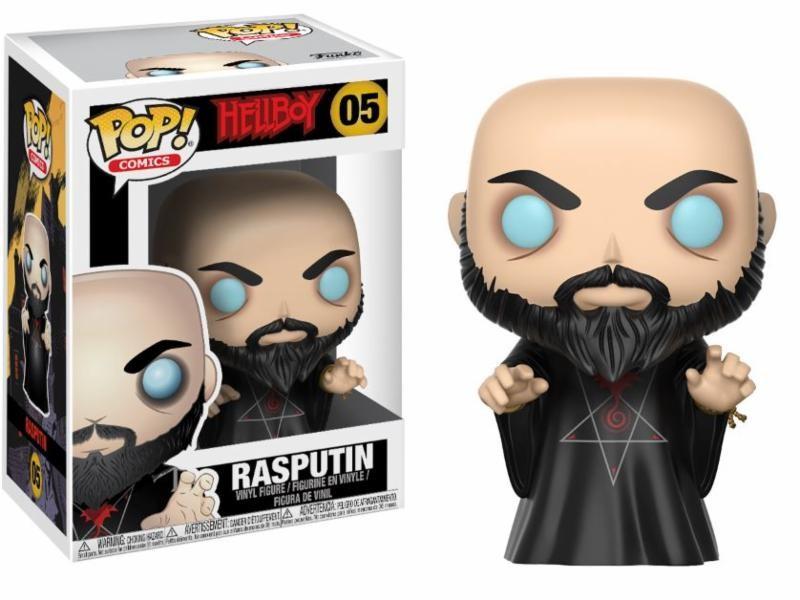 RASPUTIN FIGURA 10 CM VINYL POP HELLBOY