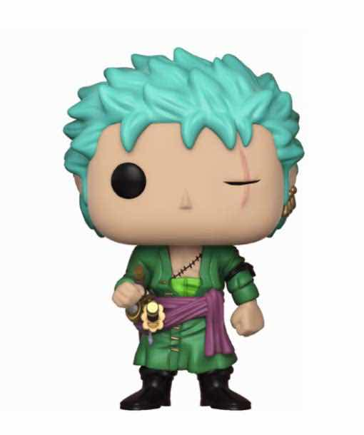 RORONOA. ZORO FIGURA 10 CM VINYL POP TV ONE PIECE SERIE 2