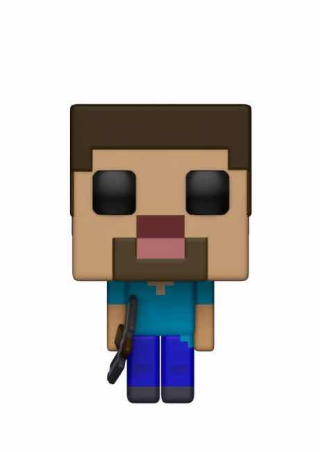 STEVE FIGURA 10 CM VINYL POP GAMES MINECRAFT