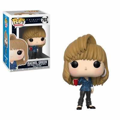 RACHEL GREEN PEINADO 80'S FIGURA 10 CM VINYL POP FRIENDS SERIE 2
