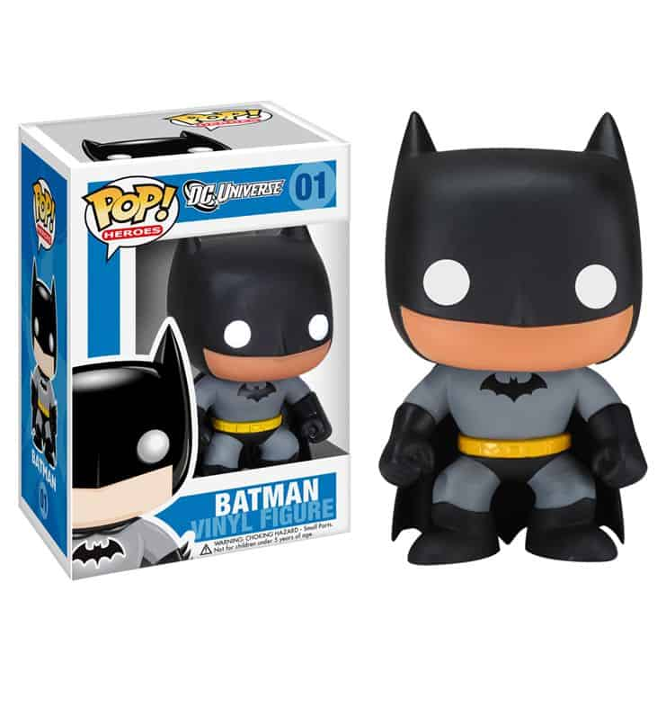 BLACK BATMAN CABEZON 10 CM POP HEROES DC