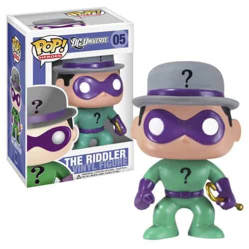 ENIGMA RIDDLER CABEZON 10 CM POP HEROES DC