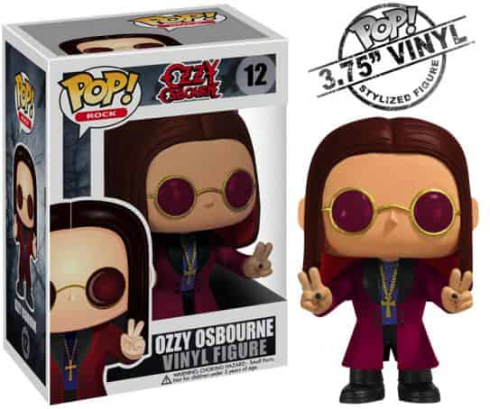 OZZY OSBOURNE FIG 10 CM VINYL POP ROCKS MUSICA