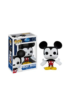 MICKEY MOUSE FIG 8 CM VINYL POP DISNEY