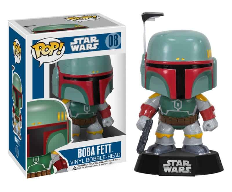BOBA FETT CABEZON 10 CM BOBBLE POP STAR WARS