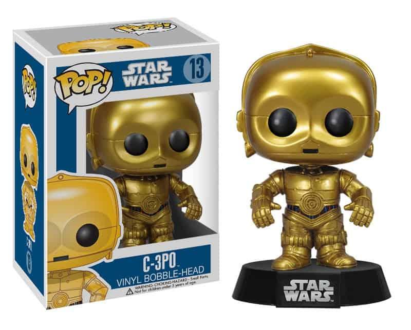C-3PO 10 CM VINYL POP STAR WARS
