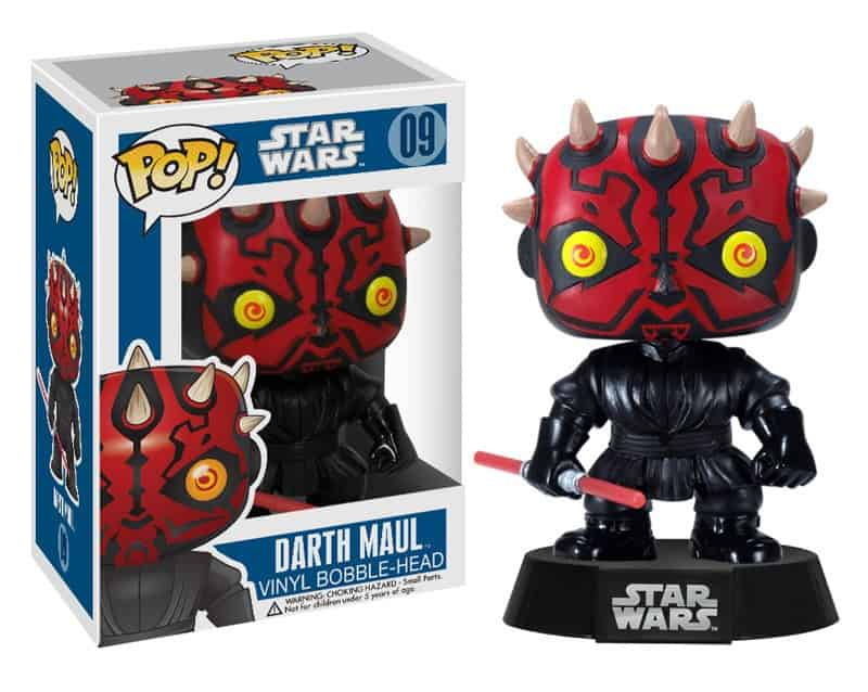 DARTH MAUL CABEZON 10 CM BOBBLE POP STAR WARS