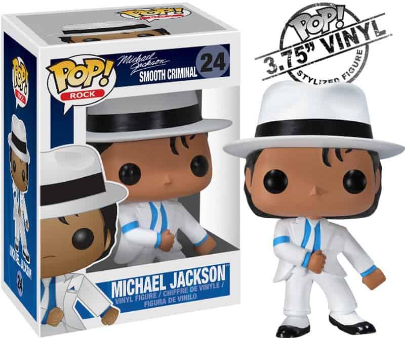 SMOOTH CRIMINAL MJ 10 CM BOBBLE POP MUSICA