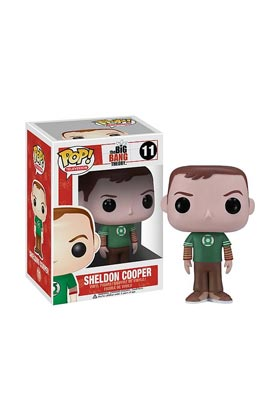 SHELDON GREEN LANTERN FIG 10 CM VINYL POP THE BIG BANG THEORY