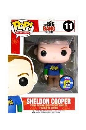 SHELDON OLD SCHOOL BATMAN FIG 10 CM VINYL POP THE BIG BANG THEORY