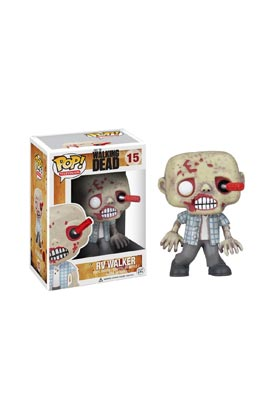 RV WALKER ZOMBIE FIG 10 CM VINYL POP THE WALKING DEAD