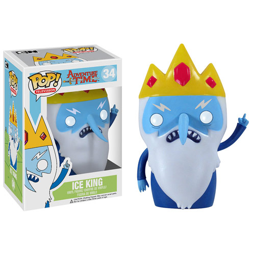 REY HIELO FIG.10 CM VINYL POP ADVENTURE TIME