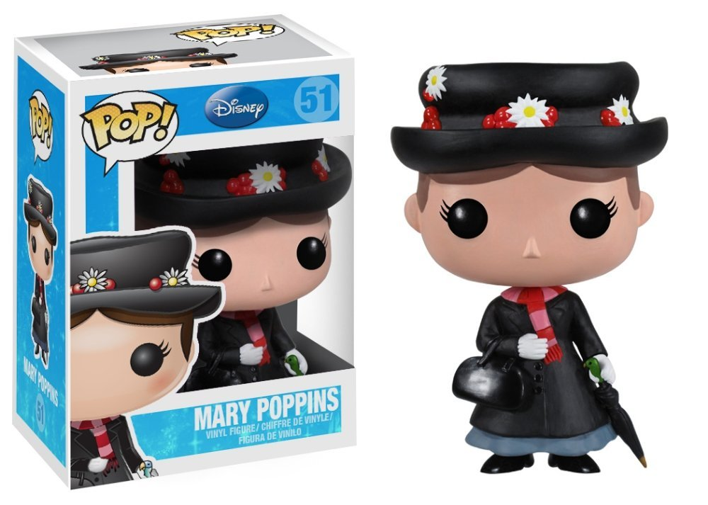 MARY POPPINS CABEZON 10 CM BOBBLE POP DISNEY