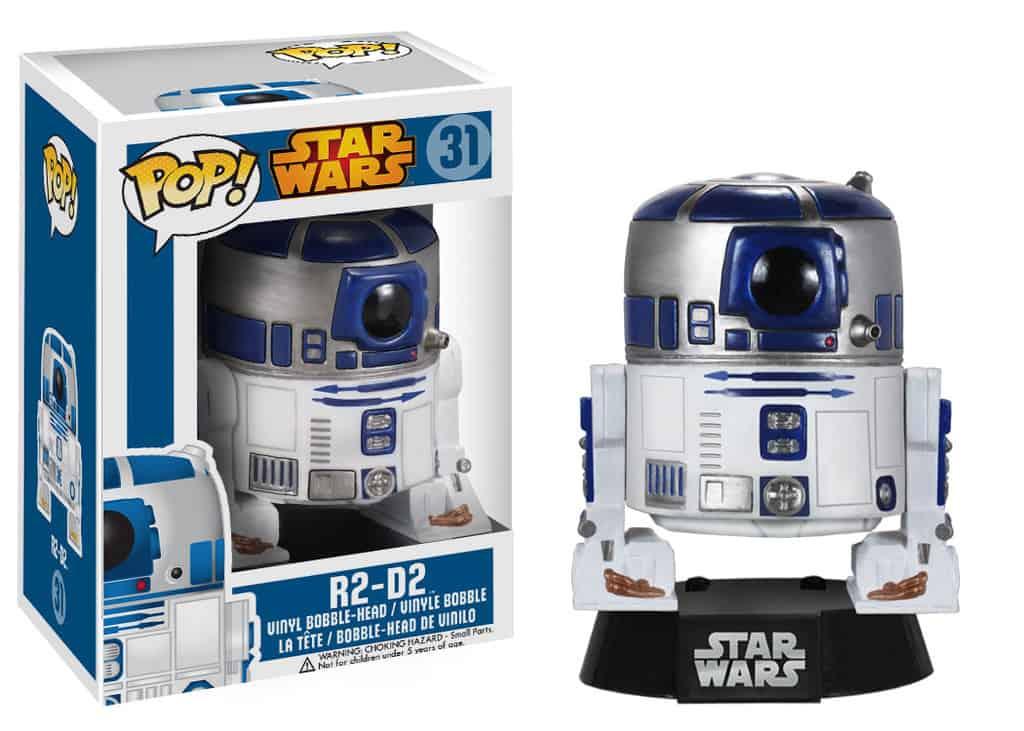 R2-D2 CABEZON 10 CM BOBBLE POP STAR WARS