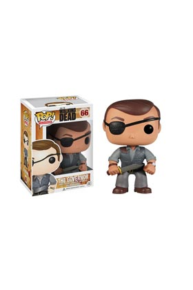 EL GOBERNADOR (THE GOVERNOR) FIG 10 CM VINYL POP THE WALKING DEAD