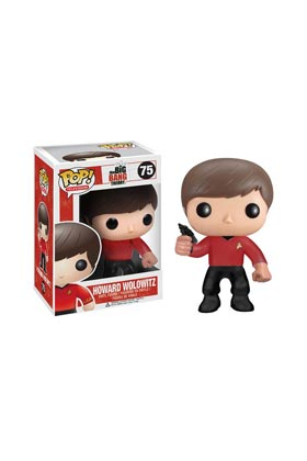 HOWARD UNIFORME STAR TREK FIG. 10 CM VINYL POP BIG BANG THEORY