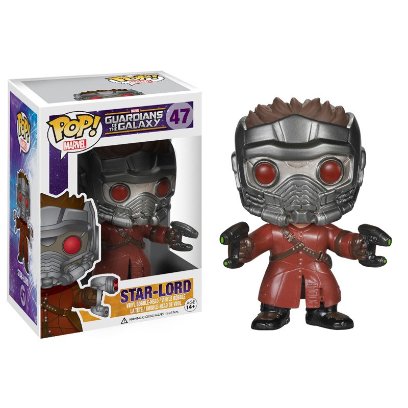 STAR-LORD FIG.10 CM VINYL POP GUARDIANS OF THE GALAXY