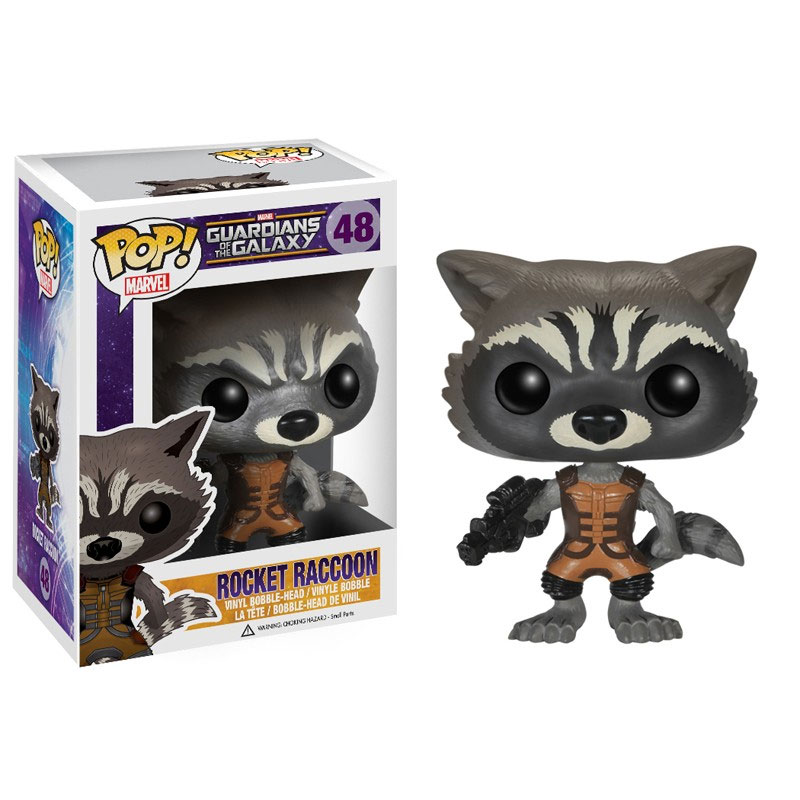 ROCKET RACOON FIG.10 CM VINYL POP GUARDIANS OF THE GALAXY