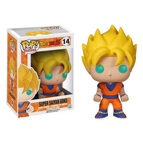 SON GOKU SUPER SAIYAN  FIG 10 CM VINYL POP DRAGONBALL Z