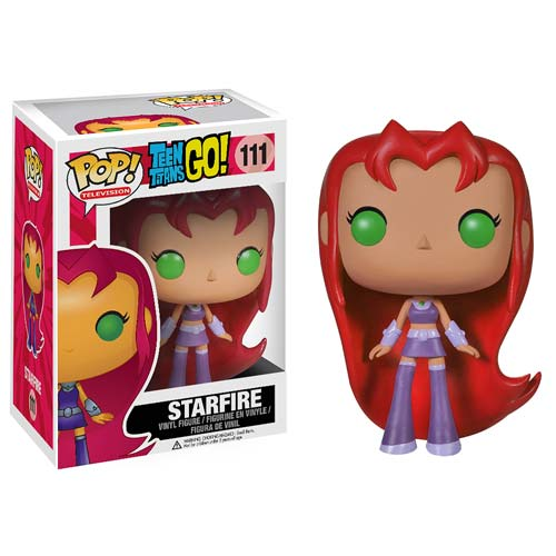 STARFIRE FIG 10 CM VINYL POP TEEN TITANS GO DC