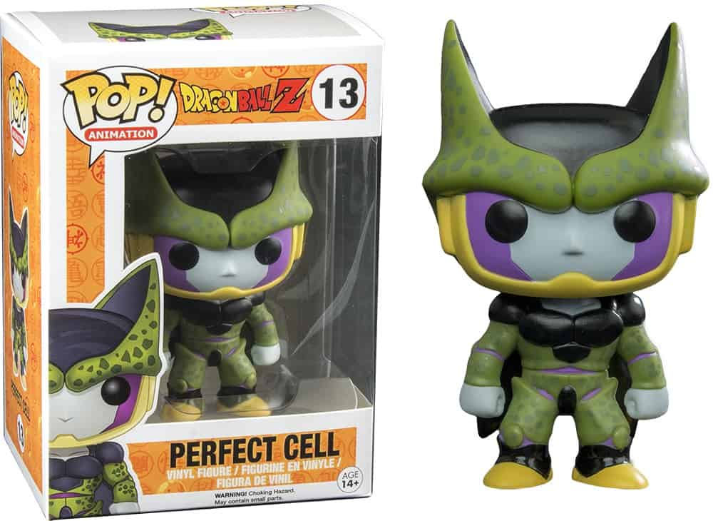 CELULA  FIG 10 CM VINYL POP DRAGONBALL Z