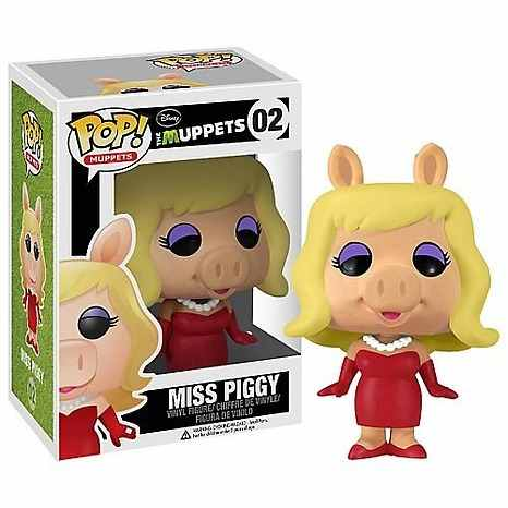 MISS PEGGY  FIG.10 CM VINYL POP  MUPPETS MOST WANTED