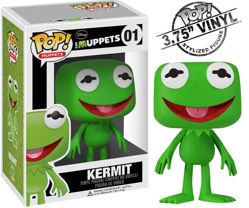 RANA GUSTAVO  FIG.10 CM VINYL POP  MUPPETS MOST WANTED