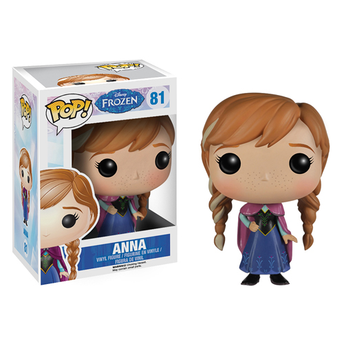 ANNA FIG 10 CM VINYL POP FROZEN DISNEY