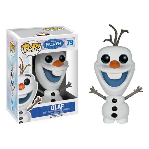 OLAF FIG 10 CM VINYL POP FROZEN DISNEY