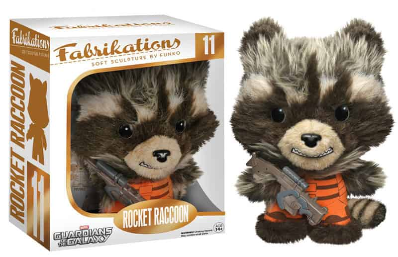 ROCKET RACCOON PELUCHE 15 CM FABRIKATIONS GUARDIANS OF THE GALAXY