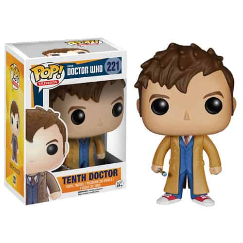 10 TH DOCTOR FIGURA 10 CM VINYL POP DOCTOR WHO