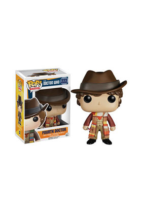 4 TH DOCTOR FIGURA 10 CM VINYL POP DOCTOR WHO