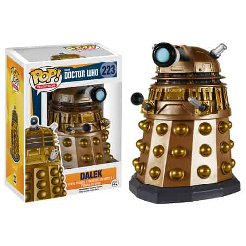 DALEK FIGURA 10 CM VINYL POP DOCTOR WHO