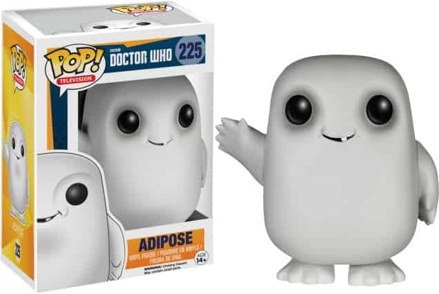 ADIPOSE FIGURA 10 CM VINYL POP DOCTOR WHO
