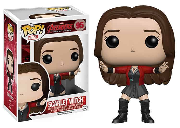 SCARLET WITCH FIGURA 10 CM VINYL POP AVENGERS AGE OF ULTRON