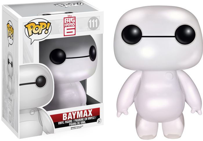 BAYMAX OVERSIZED PERLADO FIGURA 15 CM VINYL POP BIG HERO 6