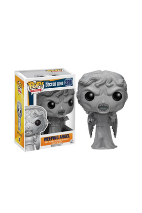 WEEPING ANGEL FIGURA 10 CM VINYL POP DOCTOR WHO
