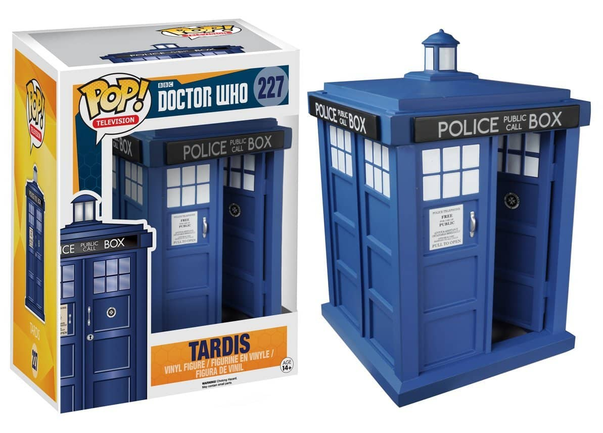 TARDIS FIGURA 15 CM VINYL POP DOCTOR WHO