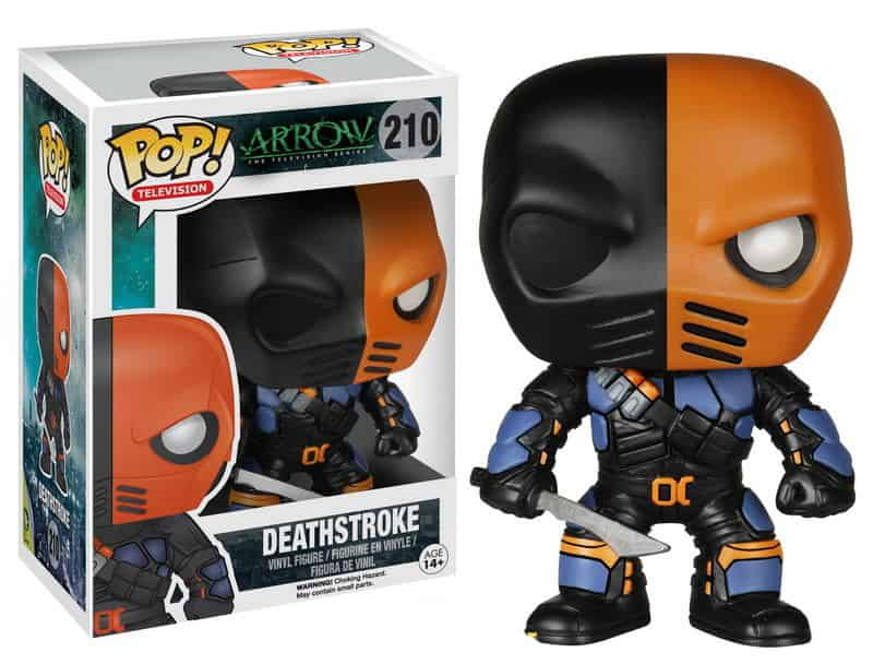 DEATHSTROKE FIGURA 10 CM VINYL POP ARROW