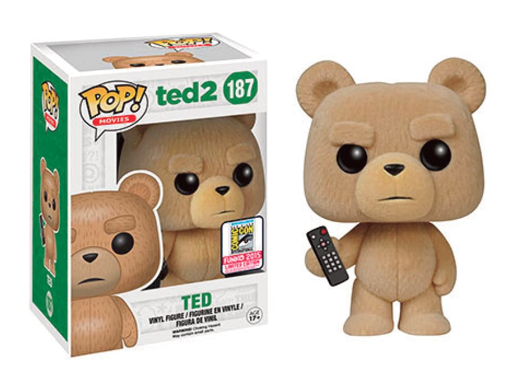 TED AFELPADO SUMMER CON 2015 FIG 10 CM VINYL POP MOVIES