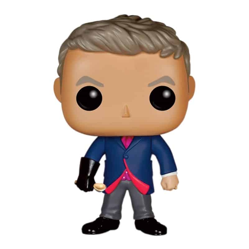 12 TH DOCTOR CON CUCHARA FIGURA 10 CM VINYL POP DOCTOR WHO