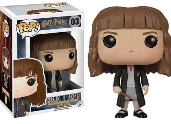 HERMIONE GRANGER CABEZON 10 CM VINYL POP MOVIES HARRY POTTER