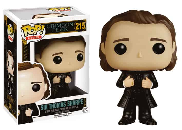 SIR THOMAS SHARPE FIG 10 CM VINYL POP CRIMSOM PEAK