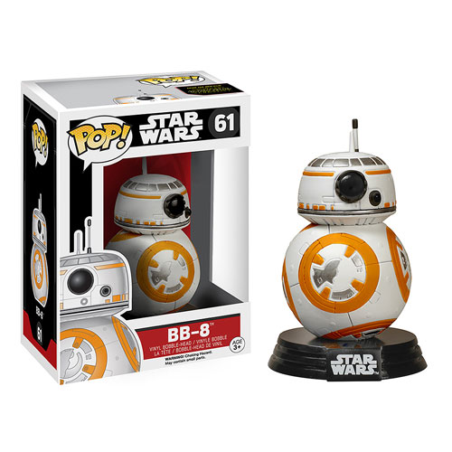 BB-8 DROIDE FIG.10CM VINYL POP STAR WARS THE FORCE AWAKENS