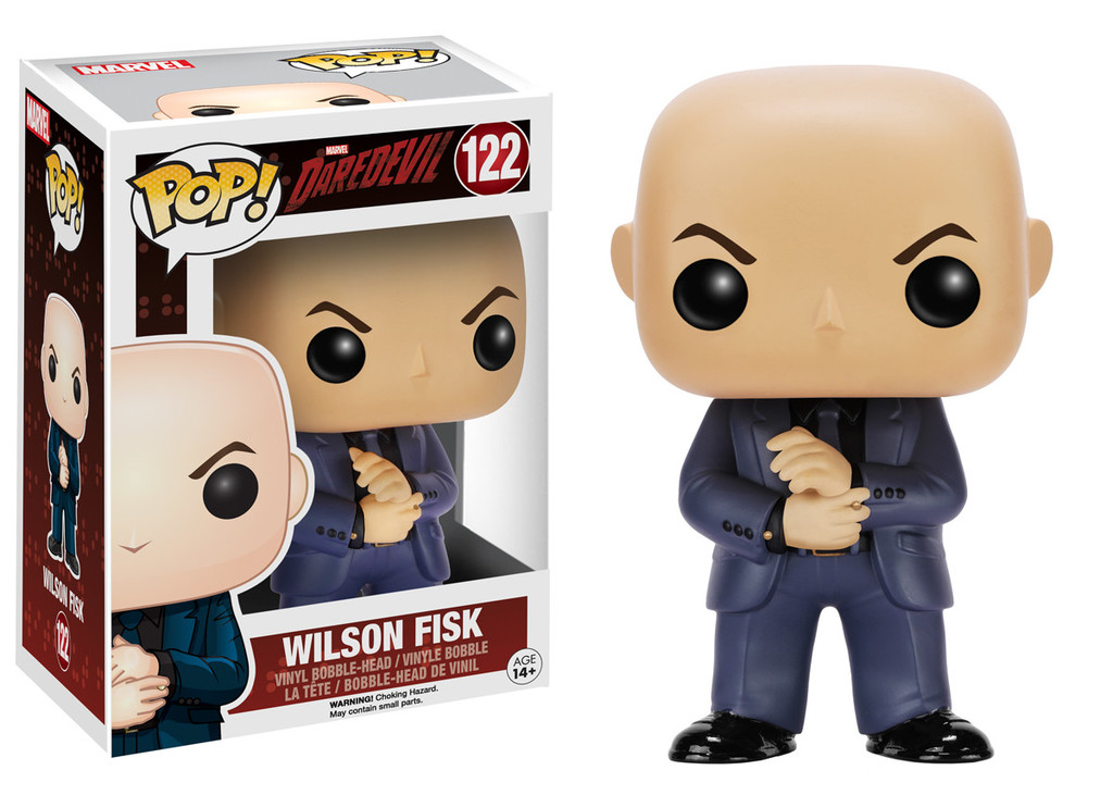WILSON FISK KINGPIN FIG.10 CM VINYL POP TELEVISION MARVEL DAREDEVIL