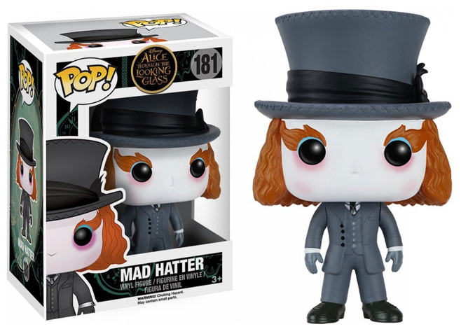 MAD HATTER FIG. 10 CM VINYL POP DISNEY ALICE THROUGH THE LOOKING GLASS